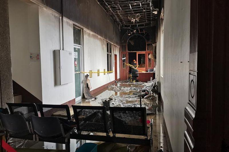 Fire-stricken CH left wing to get 'facelift'