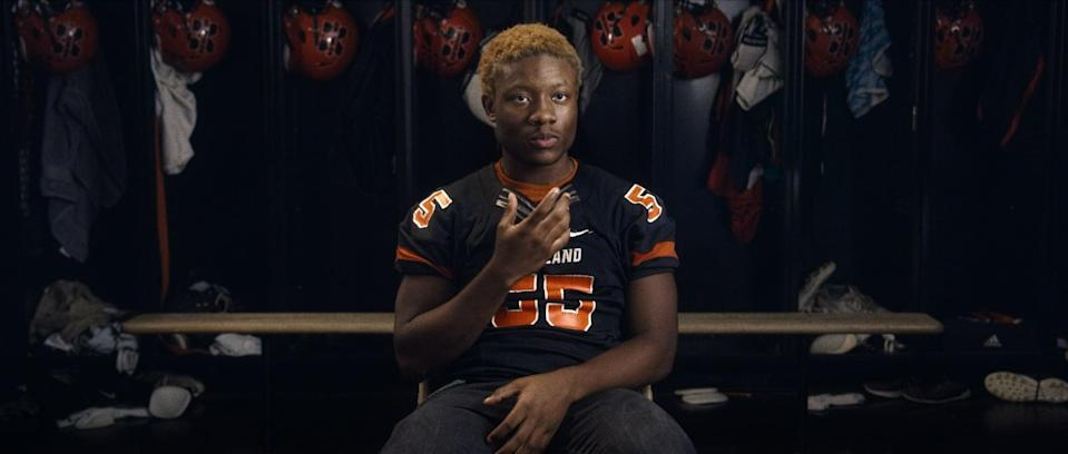 """<p>In this moving documentary, a Maryland School For the Deaf football player prepares for his final homecoming football game while mourning his friend's recent suicide.</p> <p>Watch <strong><a href=""""https://www.netflix.com/title/80219704"""" class=""""link rapid-noclick-resp"""" rel=""""nofollow noopener"""" target=""""_blank"""" data-ylk=""""slk:Audible"""">Audible</a></strong> on Netflix now.</p>"""