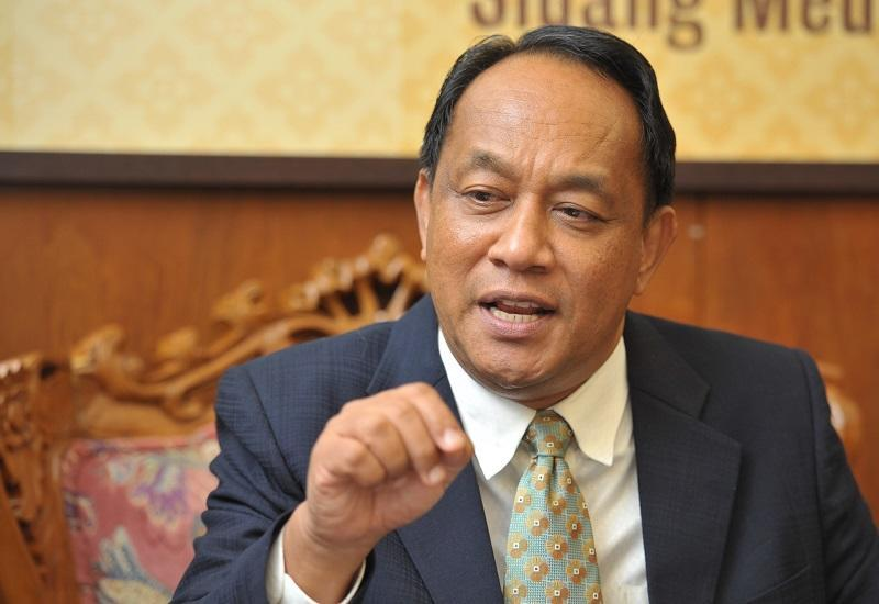 Former Pulau Betong assemblyman Datuk Muhamad Farid Saad said the Penang Chief Minister Chow Kon Yeow listed four strategies to increase state revenue and all of them were related to land and selling off lands for revenue. — Picture by KE Ooi