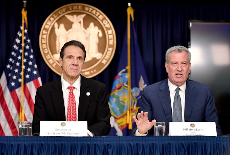 New York will battle the coronavirus with more testing and bleach