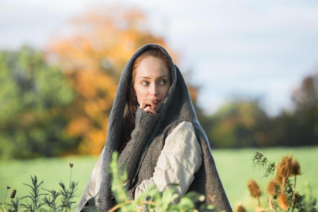 Lotte Verbeek as Geillis Duncan in Season 1 of 'Outlander' (Photo: Starz/Courtesy: Everett Collection)