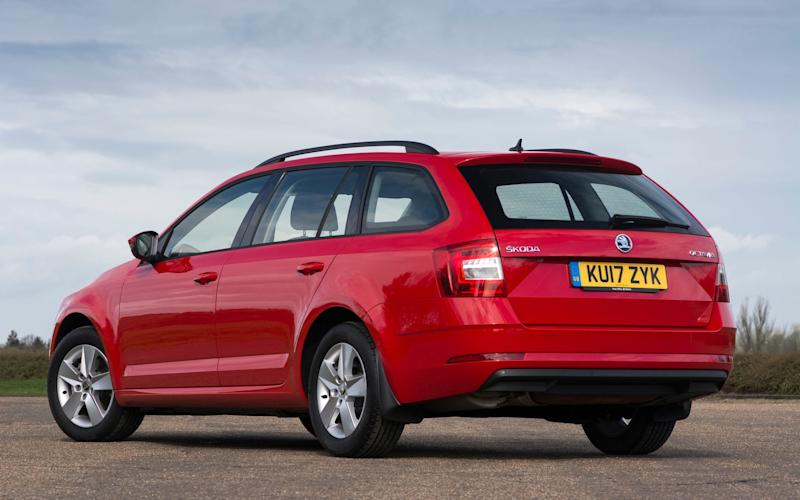 Skoda Octavia Estate 2017 facelift - Matt Vosper