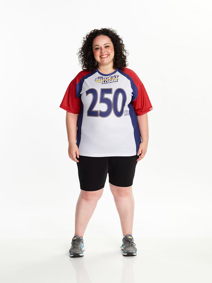 "Fernanda Abarca competes on NBC's ""The Biggest Loser"" Season 15."
