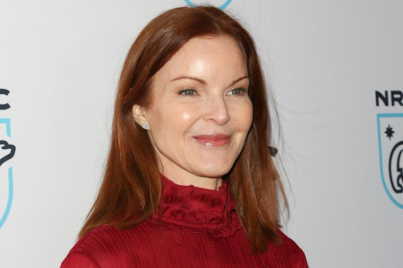 BEVERLY HILLS, CA - APRIL 25: Actress Marcia Cross attends the Natural Resources Defense Council's STAND UP! for the Planet benefit at Wallis Annenberg Center for the Performing Arts on April 25, 2017 in Beverly Hills, California. (Photo by Paul Archuleta/FilmMagic)