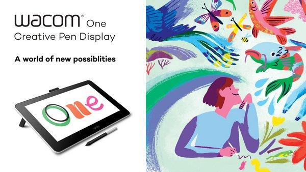 Discover new possibilities and see your imagination come to life with Wacom One.