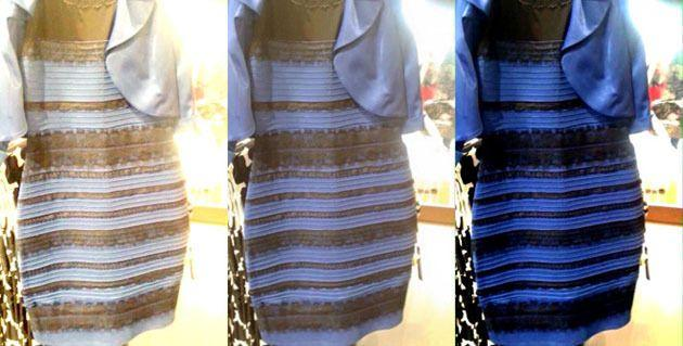 White and gold or black and blue?