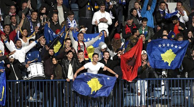 Kosovo fans will head to Tuesday's game in Southampton in confident mood. (Credit: Getty Images)