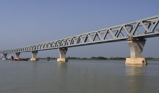 The Padma Bridge project may face delays because of the coronavirus outbreak, Bangladesh's transport minister says. Photo: Getty Images