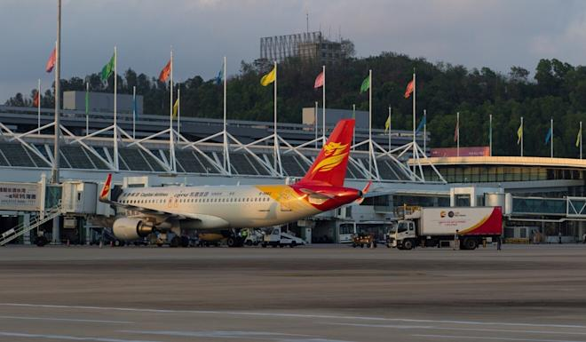 Flight traffic at Sanya Phoenix International Airport in Hainan province was boosted by demand from Chinese tourists. Photo: Shutterstock Images