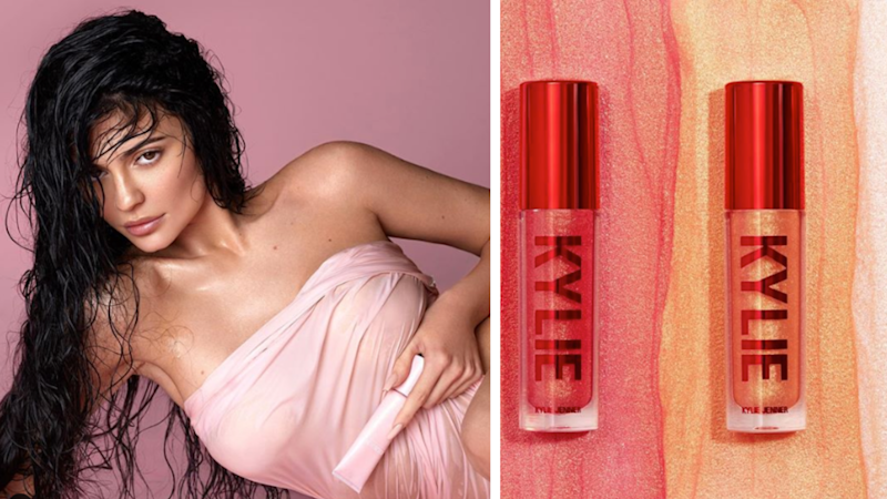 Kylie Jenner has announced a major Kylie Cosmetics deal. Images: Instagram (kyliecosmetics, kyliejenner)