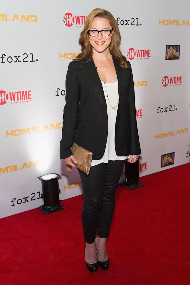 "WASHINGTON, DC - SEPTEMBER 09: S.E. Cupp attends a premiere screening hosted by SHOWTIME and Fox 21 for Season 3 of the hit series ""Homeland"" at Corcoran Gallery of Art on September 9, 2013 in Washington City. (Photo by Daniel Boczarski/Getty Images for Showtime)"
