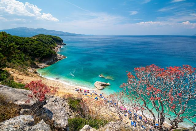 Tripadvisor has revealed its top 25 emerging travel destinations and beautiful Saranda in Albania came in second (Getty)