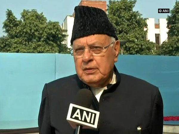 National Conference chief Farooq Abdullah (file pic/ANI).
