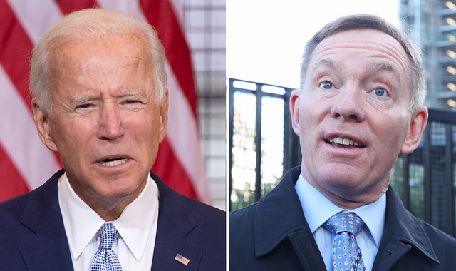 Joe Biden: Democratic presidential candidate nominated for Nobel Peace Prize by Labour MP Chris Bryant