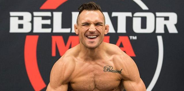 Michael Chandler - Bellator 197 weigh-in