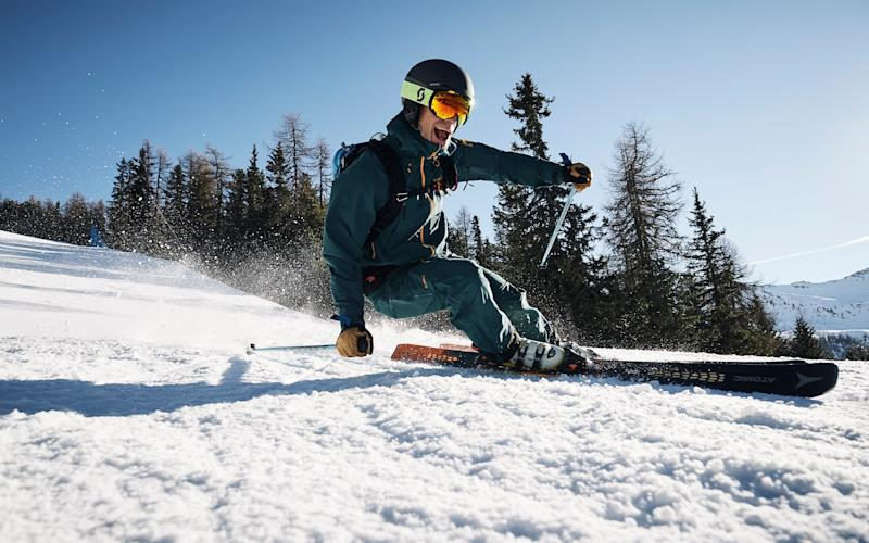 Rip up the pistes on this winter's best skis - ROSS WOODHALL