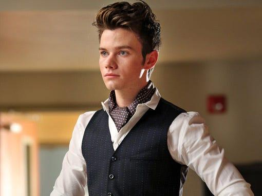 "Chris Colfer starred on all six seasons of ""Glee."""