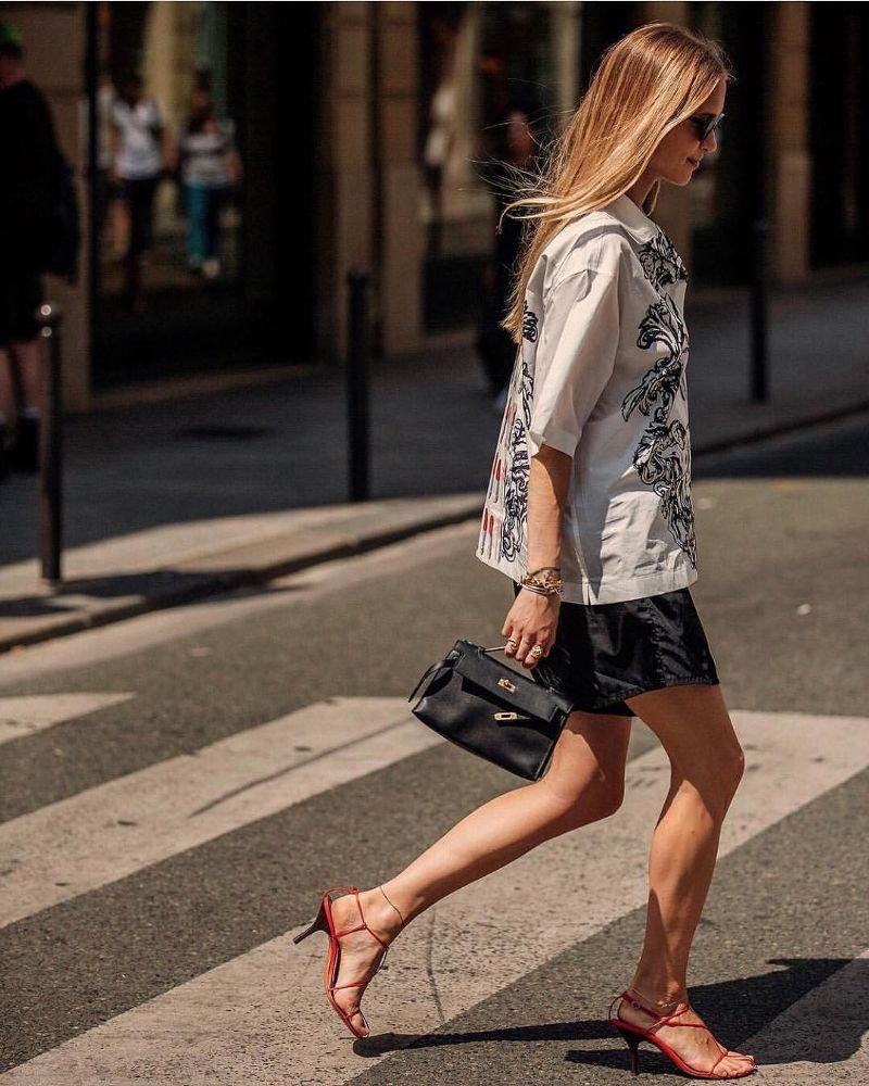 If there's one place to spend your money, it's one a great bag. Getting something timeless from a brand like Hermès or Chanel will instantly elevate your look and has excellent cost-per-wear.