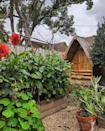 """<p>'With a tiny garden, it's all about making the space look bigger,' they explain. 'Options include growing up to use your vertical space, laying borders, having clear pathways, and creating specific zones or outdoor rooms.'</p><p>When it comes to plants, brighten up your space with eye-popping perennials (such as Geranium Rozanne and Geum) and <a href=""""https://www.housebeautiful.com/uk/garden/plants/a33376472/plant-supports/"""" rel=""""nofollow noopener"""" target=""""_blank"""" data-ylk=""""slk:climbers"""" class=""""link rapid-noclick-resp"""">climbers</a>, too. </p><p><strong>READ MORE</strong>: <a href=""""https://www.housebeautiful.com/uk/garden/designs/a1794/small-garden-ideas-budget/"""" rel=""""nofollow noopener"""" target=""""_blank"""" data-ylk=""""slk:9 small garden design ideas on a budget"""" class=""""link rapid-noclick-resp"""">9 small garden design ideas on a budget</a></p><p><a href=""""https://www.instagram.com/p/CEv5_pWAgnt/"""" rel=""""nofollow noopener"""" target=""""_blank"""" data-ylk=""""slk:See the original post on Instagram"""" class=""""link rapid-noclick-resp"""">See the original post on Instagram</a></p>"""
