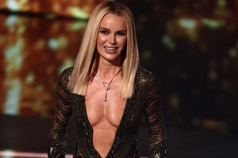 No action: Amanda Holden's 'topless dress' will not be investigated by Ofcom: Syco/Thames/Dymond