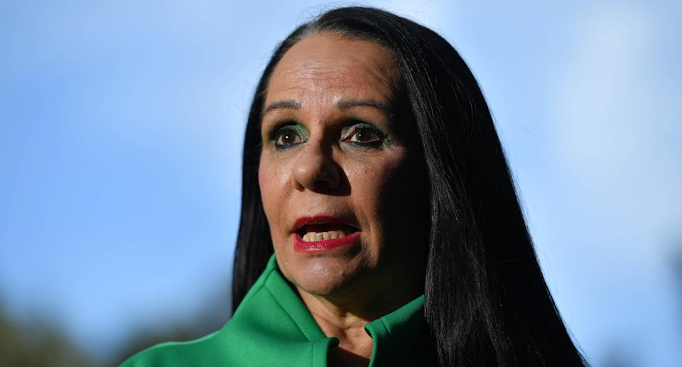 Shadow Minister for Indigenous Australians Linda Burney at a press conference in Sydney. Source: AAP