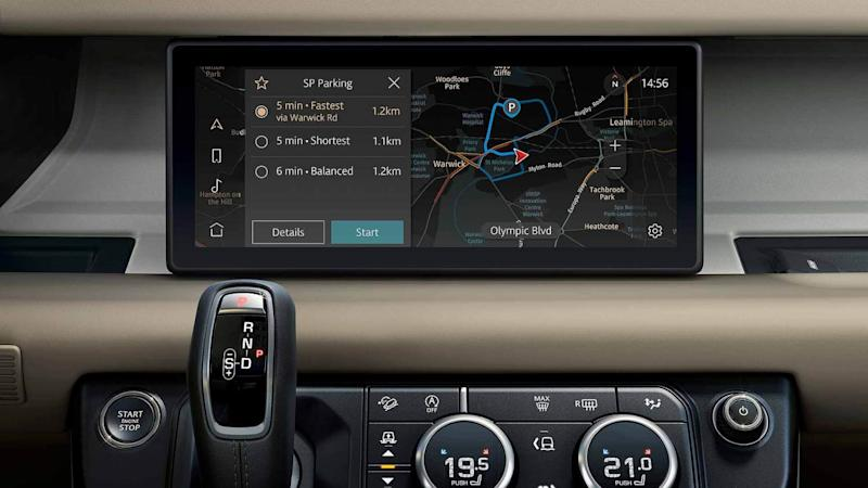 JLR Pivi Pro in the new Land Rover Defender