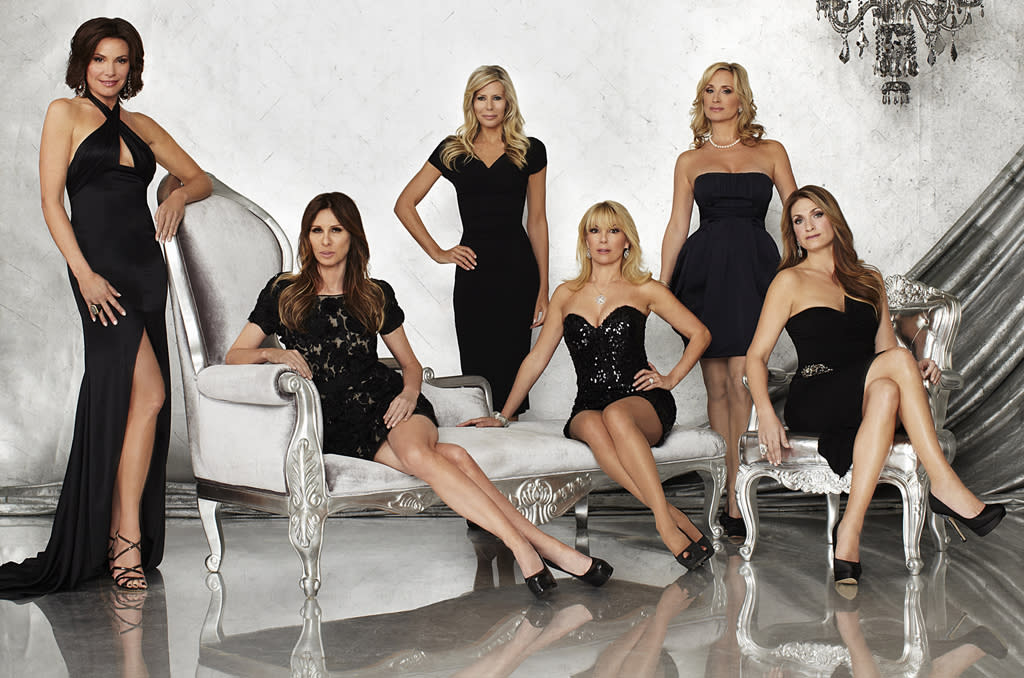 """<P><B>""""Real Housewives of New York"""" (Bravo)</b><br> <br><B>Returns June 4 </b> <br> <br>One of the new housewives calls Ramona and Sonja white trash. This could be the best thing ever. Also, while we're sad that loudmouth Jill Zarin and the candy-eating Kelly Bensimon are gone, we're glad that Alex is out of there as well. Mostly so we don't have to see Simon in hot pants stirring up nonsense all summer long. </P>"""
