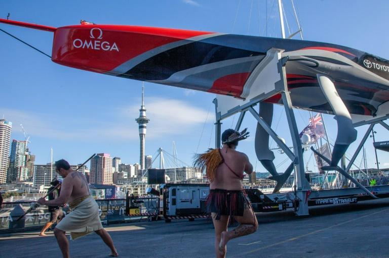 Team New Zealand launched their second-generation AC75 for the next year's America's Cup