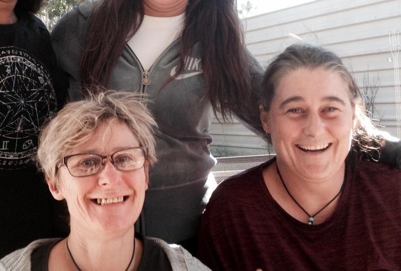 Claire Hockridge, 46 and Tamra McBeath-Riley, 52, went missing from Alice Springs on November 19 when they told family and friends they were going for a drive. Source: Facebook