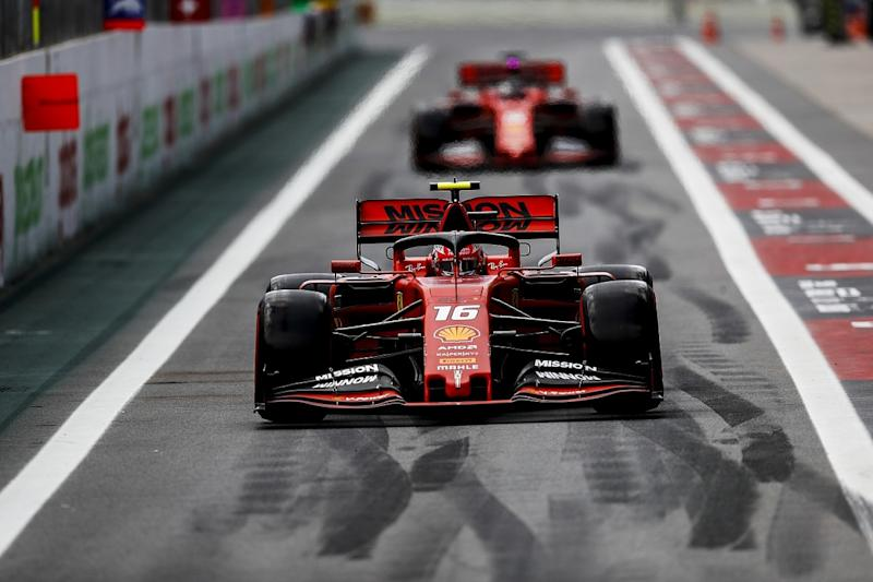 Leclerc: Vettel's race pace is