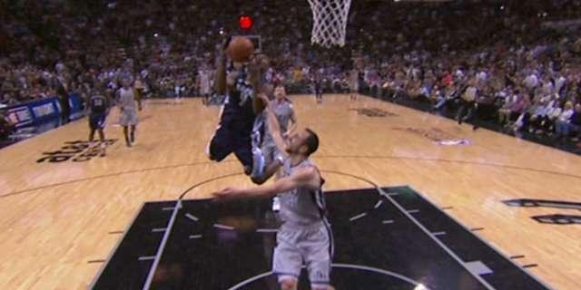 Tony Allen fined $5K for flopping on Manu Ginobili flagrant foul in Game 2 vs. Spurs (Video)
