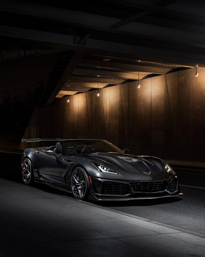 2019 Chevrolet Corvette ZR1 convertible.