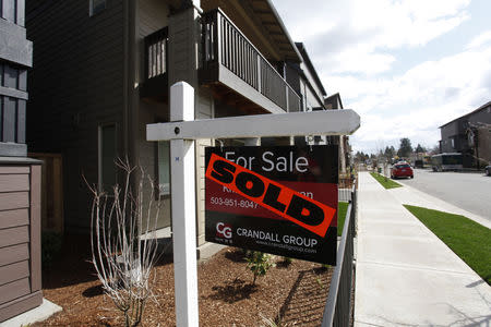 Sold homes are seen in the southwest area of Portland