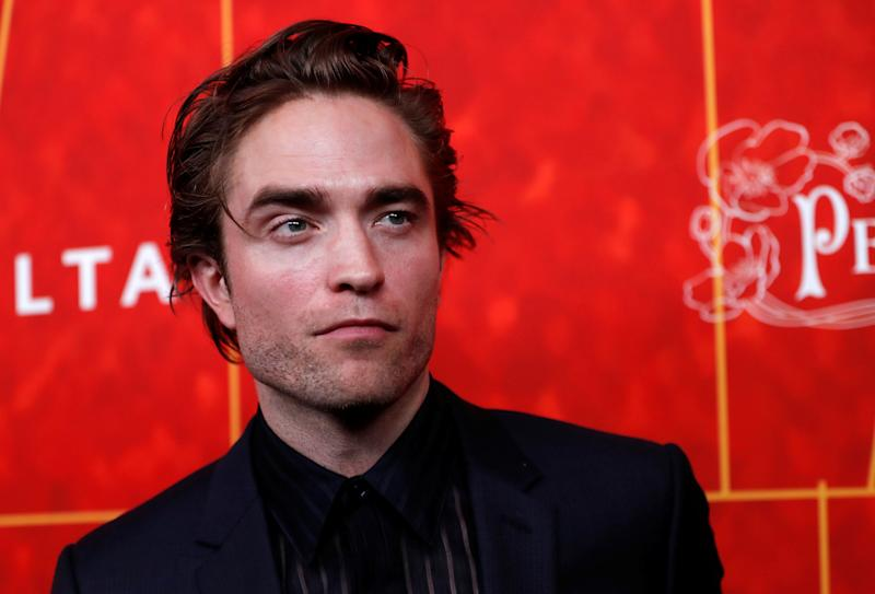 Actor Robert Pattinson poses at the ninth amfAR Gala Los Angeles in Beverly Hills, California, U.S., October 18, 2018. REUTERS/Mario Anzuoni