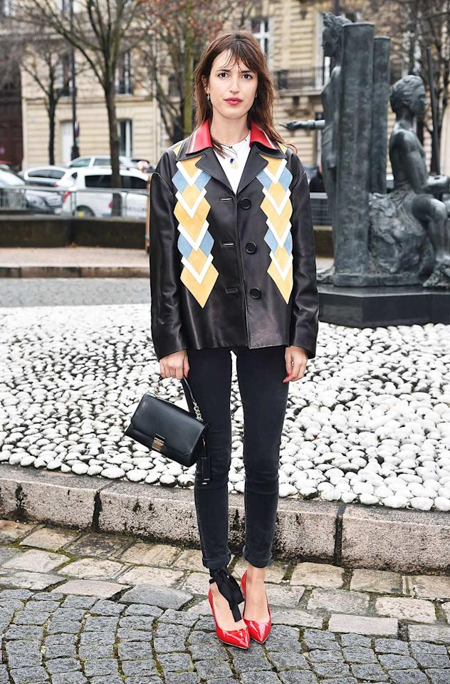 <h2>Skinnies Done The French-Girl Way</h2>                                                                                                                                                                             <p><p>Model Jeanne Damas in Paris.</p>                                                                                                                                                                               <h4>Getty Images</h4>
