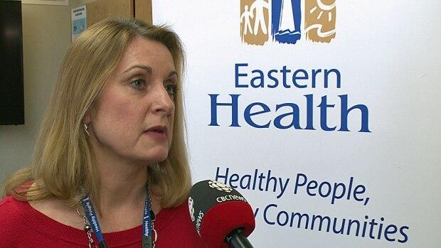 Judy O'Keefe, Eastern Health's vice-president for clinical services, says the health authority is working to address concerns over long shifts and a shortage of nurses at long-term care homes. (Jeremy Eaton/CBC - image credit)