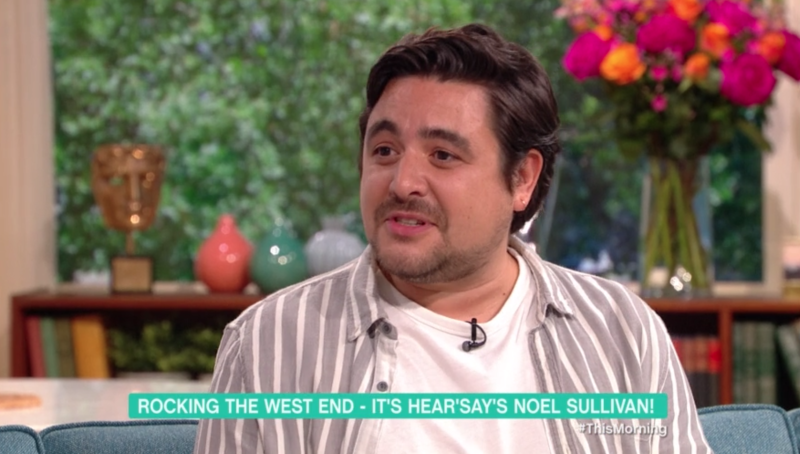 Noel Sullivan on This Morning (ITV)