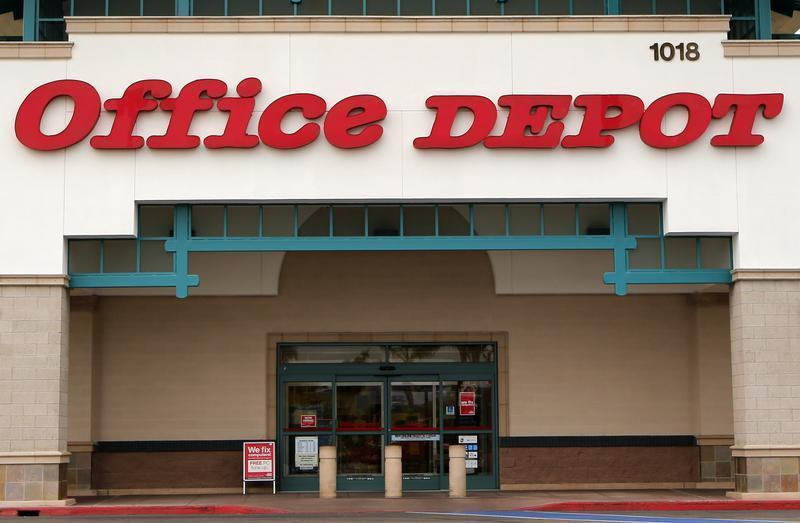Office Depot store in Encinitas, California