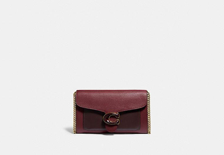 """<p><strong>Coach</strong></p><p>coach.com</p><p><a href=""""https://go.redirectingat.com?id=74968X1596630&url=https%3A%2F%2Fwww.coach.com%2Fproducts%2Ftabby-chain-clutch-in-colorblock-with-snakeskin-detail%2FC4203.html&sref=https%3A%2F%2Fwww.elle.com%2Ffashion%2Fshopping%2Fg37779639%2Fcoach-sale-bags-2021%2F"""" rel=""""nofollow noopener"""" target=""""_blank"""" data-ylk=""""slk:Shop Now"""" class=""""link rapid-noclick-resp"""">Shop Now</a></p><p><strong><del>$350</del> $262.50 (20% off with code SAVENOW)</strong></p><p>There's a pocket in this leather clutch for every card you carry, and then some. Remove the chain strap for a handheld look, if you like. </p>"""