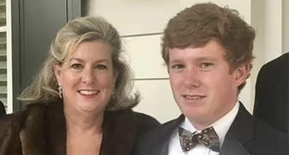 Paul Murdaugh, 22, and his 52-year-old mum, Maggie, are pictured.