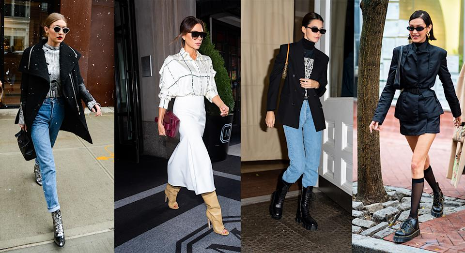 Boots were a huge trend in 2019 and will continue into 2020 too - we have all the fashion inspiration and affordable footwear to buy [Photo: Getty]