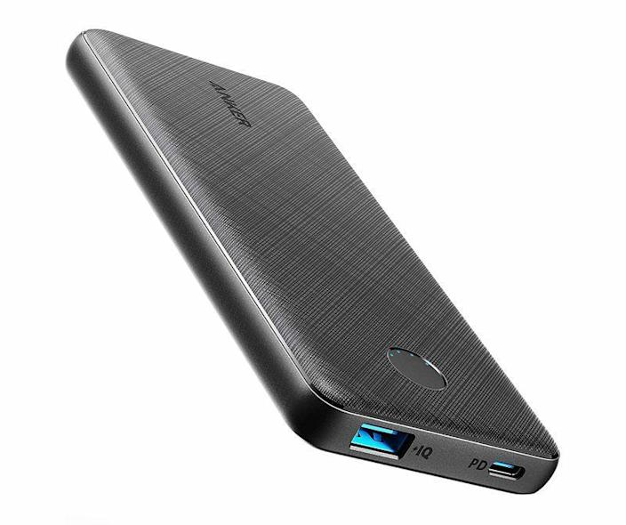 """<p><strong>Anker</strong></p><p>amazon.com</p><p><strong>$34.99</strong></p><p><a href=""""https://www.amazon.com/dp/B08LH26PFT?tag=syn-yahoo-20&ascsubtag=%5Bartid%7C10060.g.2993%5Bsrc%7Cyahoo-us"""" rel=""""nofollow noopener"""" target=""""_blank"""" data-ylk=""""slk:Buy Now"""" class=""""link rapid-noclick-resp"""">Buy Now</a></p><p><strong>Consumer Score:</strong> 90% gave it 4 stars or more</p><p>Anker's well-regarded PowerCore line of battery packs includes so many models that it can be difficult to narrow down a choice. But the PowerCore Slim 10,000 PD strikes a balance that will suit most people. It's about the size of an average smartphone and boasts an ample 10,000-mAh battery, which offers enough juice to recharge an iPhone 12 twice. A USB-C port also ensures that devices supporting the standard are charged as quickly as possible, and helps the battery pack itself recharge quickly as well (Anker promises a full charge in 4.5 hours).</p>"""