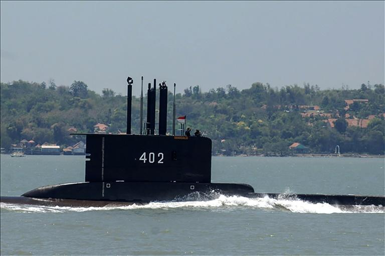 The submarine -- one of five in Indonesia's fleet -- disappeared early Wednesday during live torpedo training exercises off Bali