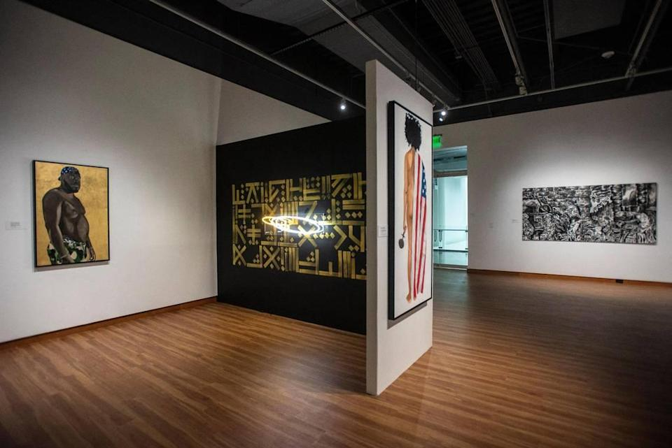 """With a mask mandate in place, but indoor capacities beginning to increase, staff at the Gantt are hoping to see an influx of visitors this fall for """"Visual Vanguard: An Exhibition of Contemporary Black Carolina Artists."""""""