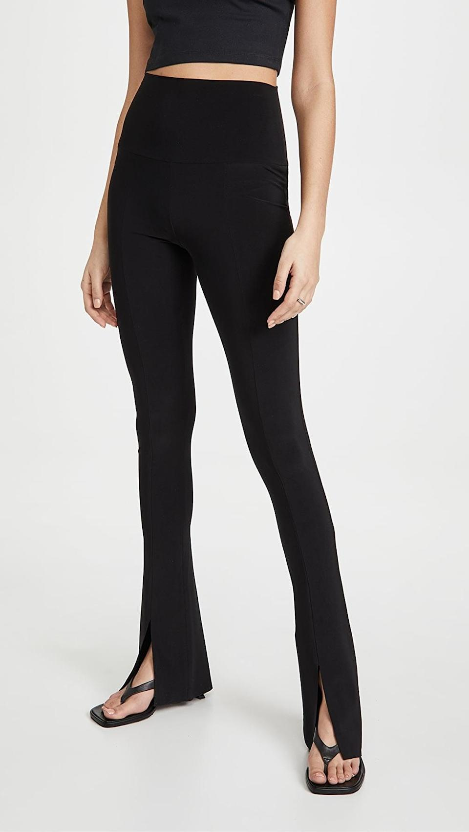 <p>These <span>Norma Kamali Spat Leggings</span> ($115) totally double as chic pants you can wear to brunch or dinner.</p>