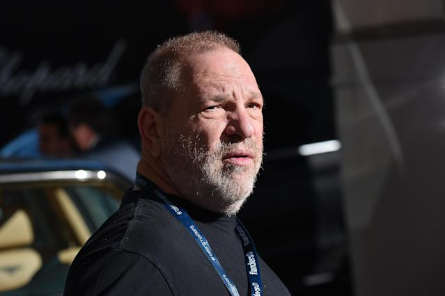 Harvey Weinstein is spotted at Hotel Martinez during the 70th annual Cannes Film Festival, May 19, 2017. (Photo by Jacopo Raule/GC Images)