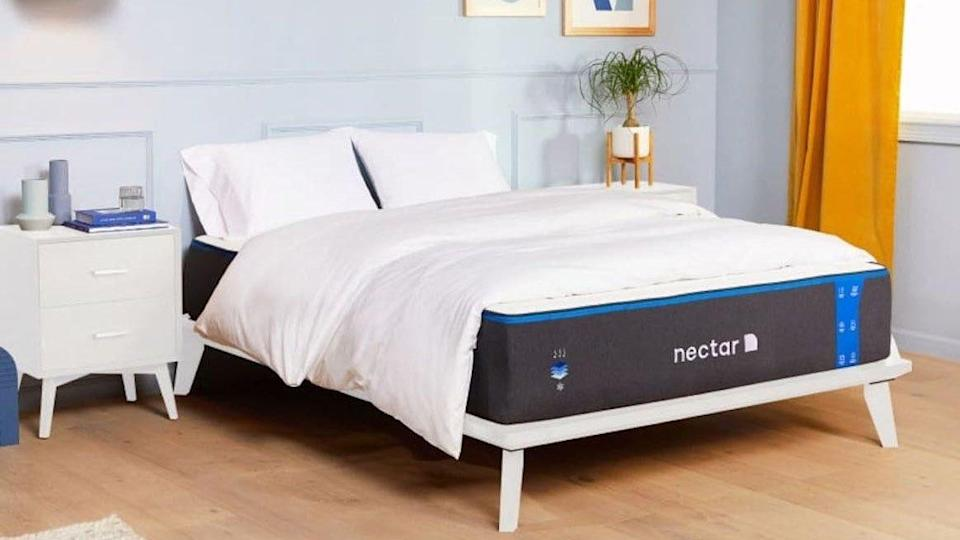 Get a better night's sleep with the Nectar.