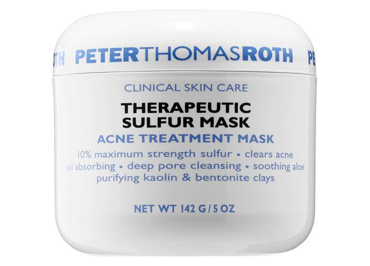 """<p>Eucalyptus, sulfur, aloe and purified clay make this mask an ideal cleansing ritual for those who need a medicated solution without drying out.</p> <p><a class=""""link rapid-noclick-resp"""" href=""""https://shop-links.co/1737871315580654751"""" rel=""""nofollow noopener"""" target=""""_blank"""" data-ylk=""""slk:Buy It ($52)"""">Buy It ($52)</a></p>"""