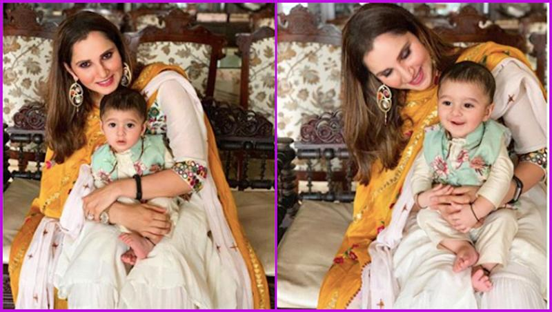 Sania Mirza and Son Izhaan Celebrate Eid in Hyderabad As Shoaib Malik Participates in the CWC 2019 in England, See Cute Pics of Mother-Son Duo!
