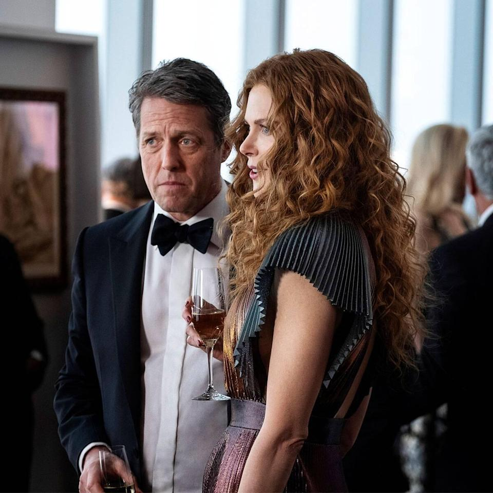 Hugh Grant Gave His Co-Stars the Most Hugh Grant Gift After Filming The Undoing